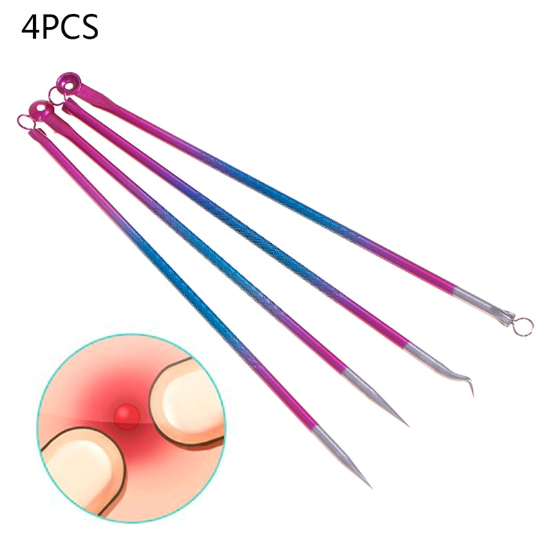 AliExpress - 4pcs facial blackhead and acne removal vacuum cleaner tool to blackhead pore cleaner