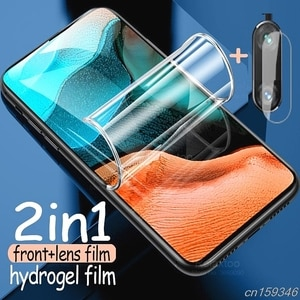 Hydrogel Film on Realme X3 SuperZoom Screen Protector For OPPO Realme X3 x2 Pro x lite 3 2 xlite Protective lens Film