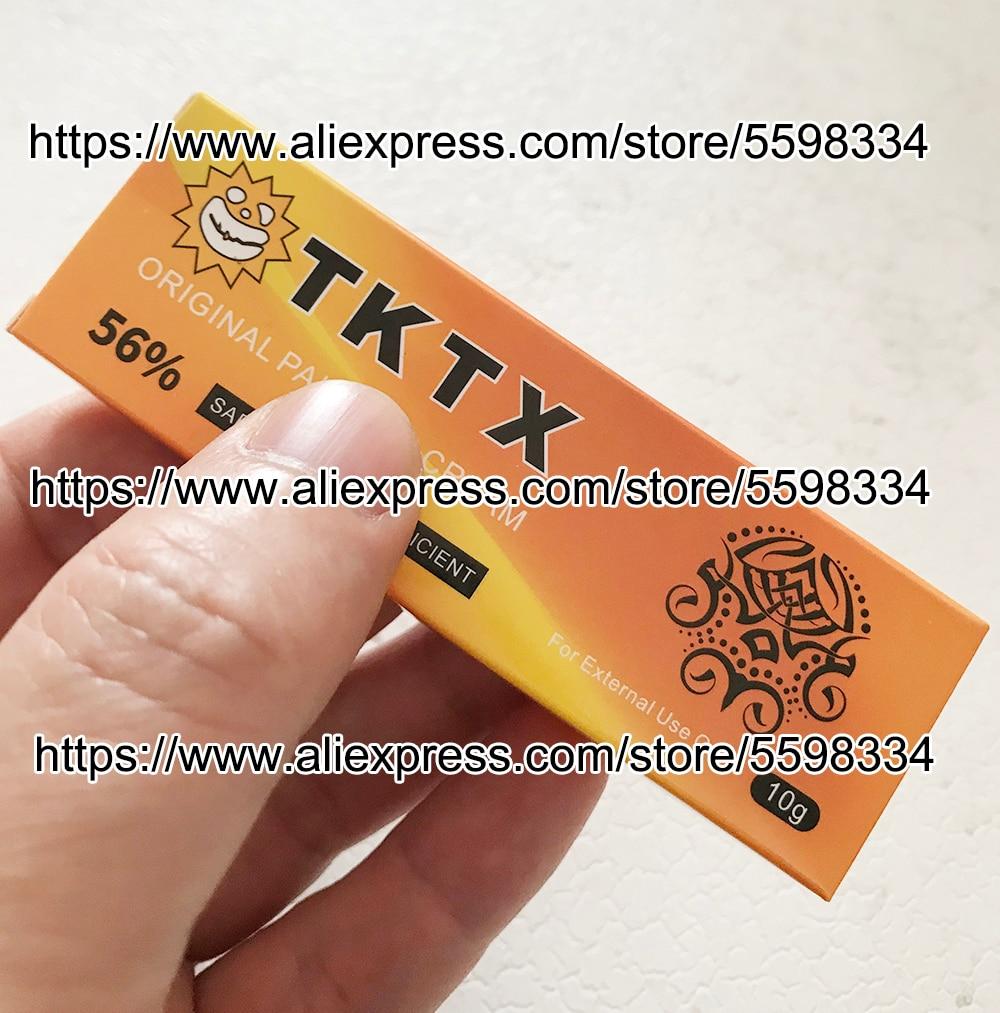 56% new gold tktx Before Tattoo Cream Permanent makeup Body Eyebrow Eyeliner Lips 10g
