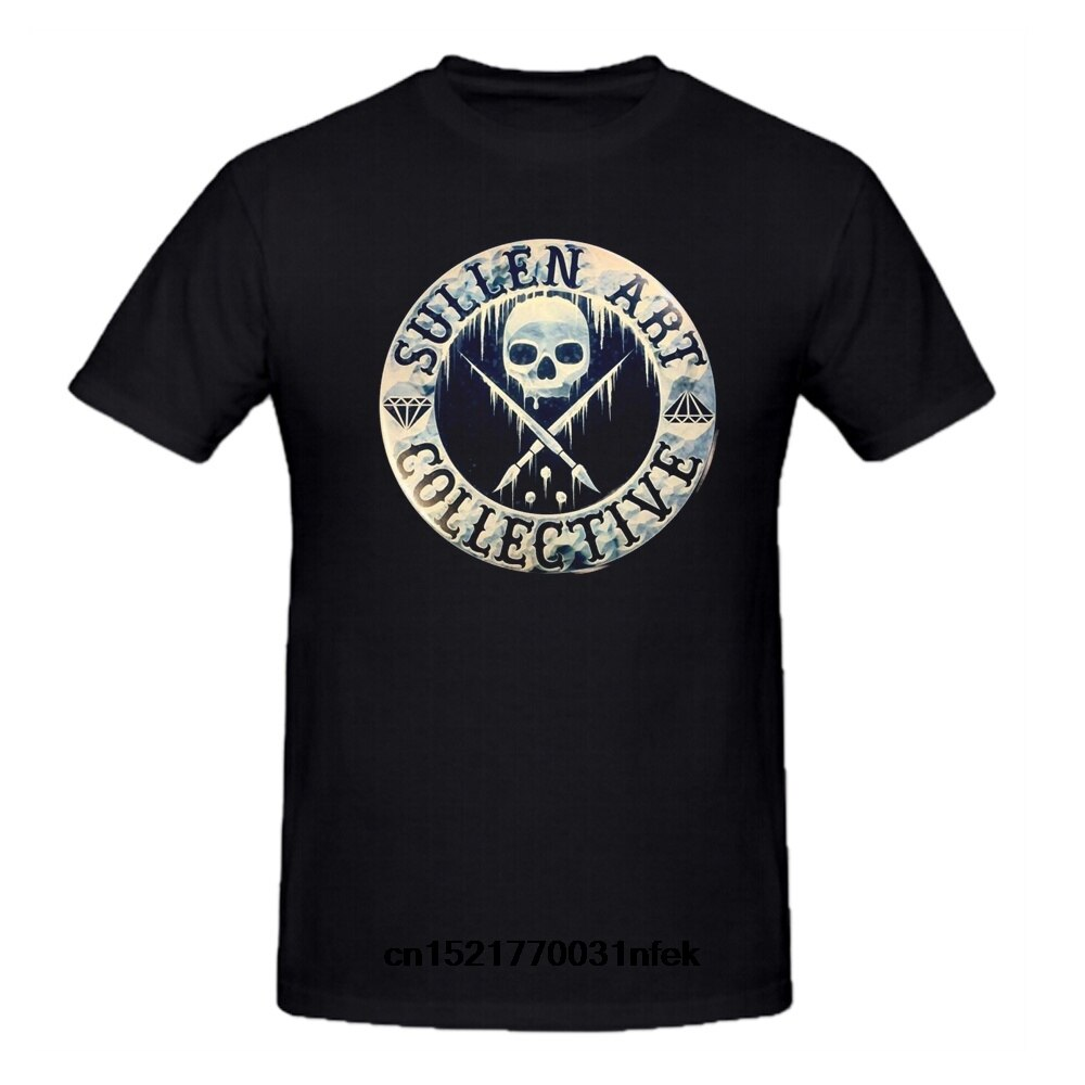 Męska koszulka Sullen odzież Connolly odznaka tatuaż twarz śmieszny t-shirt nowatorski tshirt kobiet
