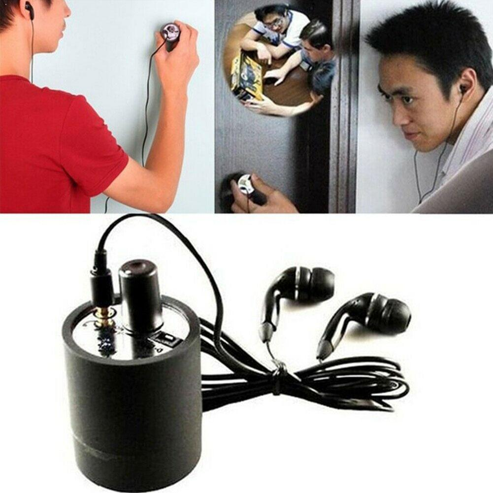 High Strength Wall Microphone Voice Listen Detecotor Water Oil For Engineer Leakage Hearing For Repair Leaking