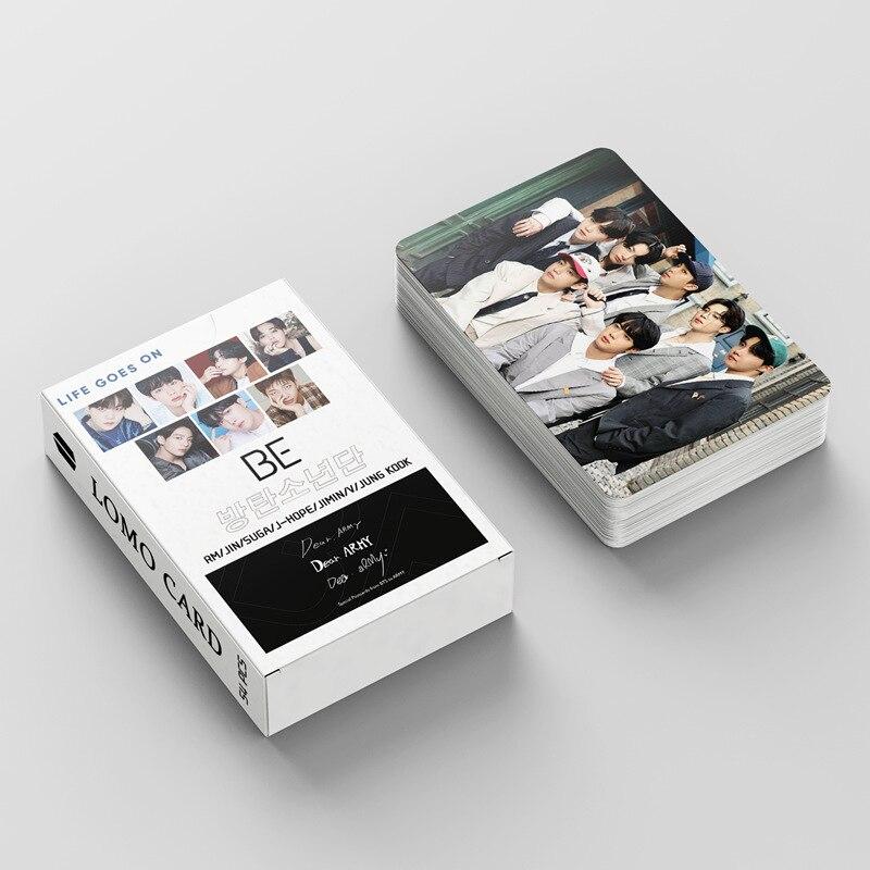 Cartel de Bangtan Boys de grupos surcoreanos, tarjetas de felicitación de la temporada 2021, tarjetas fotográficas, JUNG KOOK JIMIN SUGA, K-POP