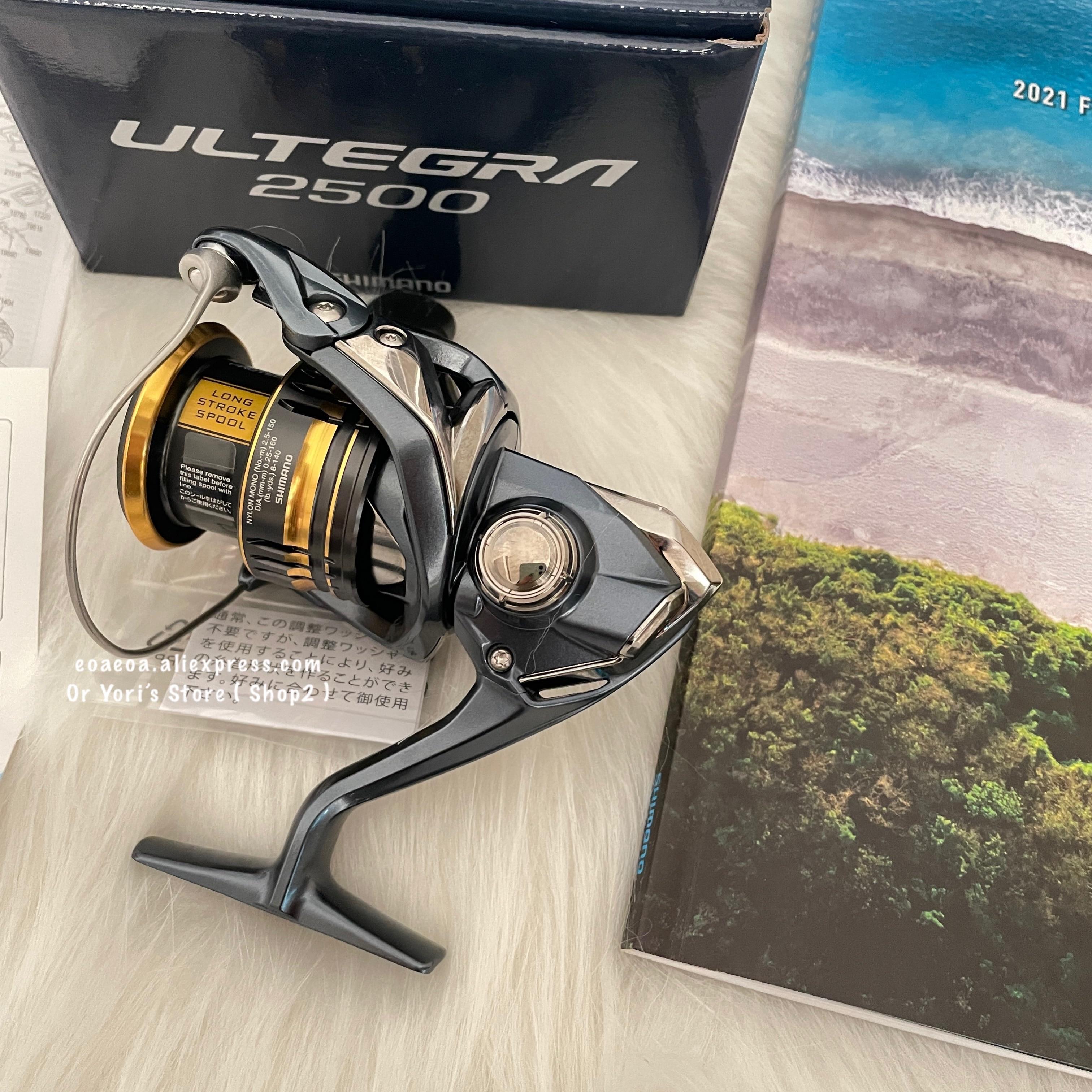 21 New Shimano Ultegra 2500 C3000 C3000HG 4000 C2000HG 2500HG HAGANE Body Saltwater Pesca Fishing Spinning Reel enlarge