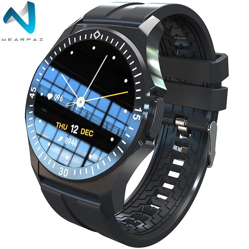 Reloj inteligente Wearpai TW6 a prueba de agua para la temperatura del cuerpo, reloj deportivo para ritmo cardíaco y presión arterial, reloj inteligente a la moda para hombres y mujeres