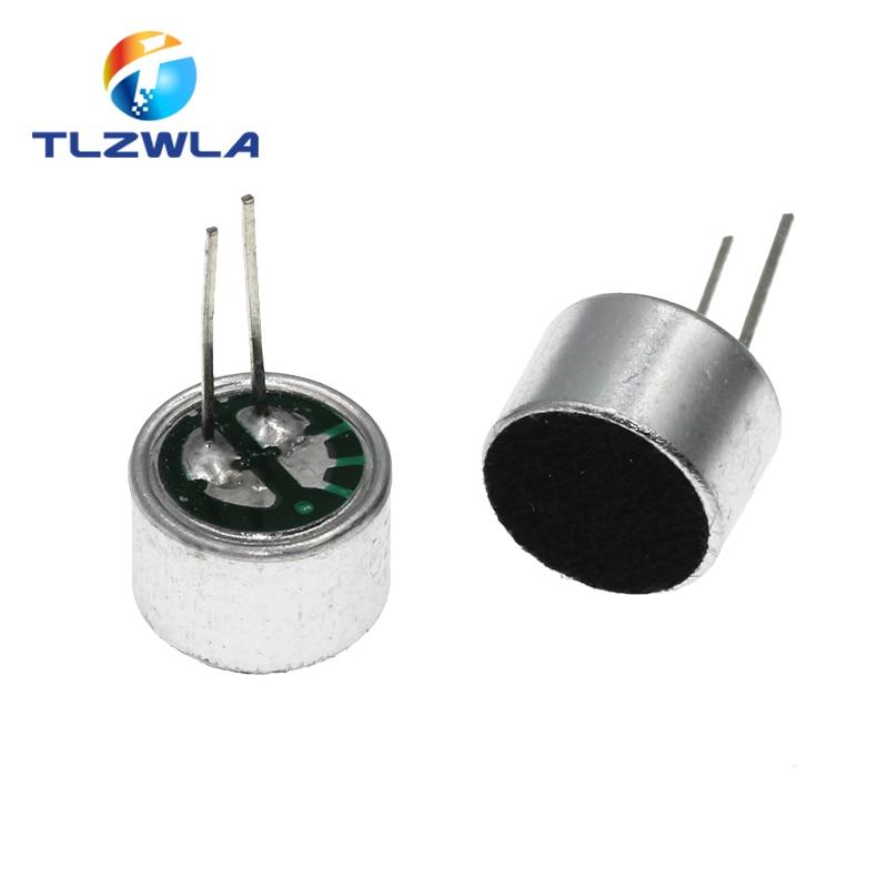 ميكروفون كهربائي مع 2 دبوس ، 9 × 7 مللي متر ، 1000 قطعة ، 9767