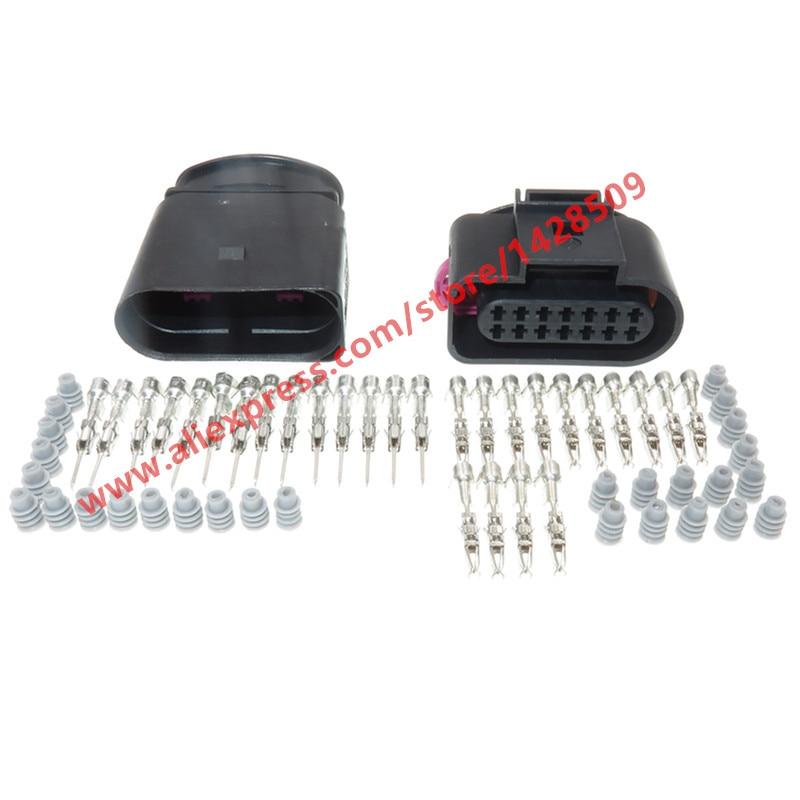 1 juego 14 pines Auto 09G caja de cambios conector de cable impermeable para VW Audi 6X0973817 6X0973717 6X0 973, 817 6X0 973 de 717