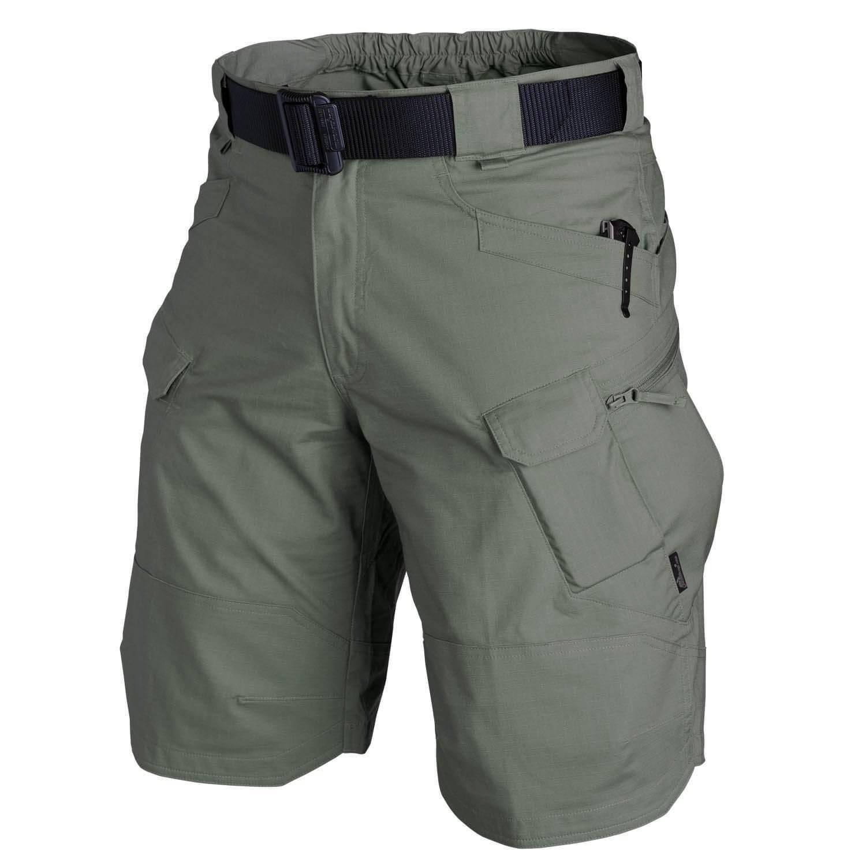Шорты мужские тактические, городские водонепроницаемые брюки-карго в стиле милитари, дышащие быстросохнущие штаны, уличные повседневные, л...