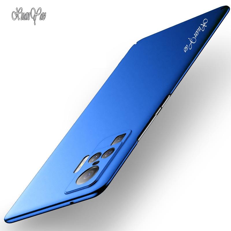 Funda X50 XUANYAO, funda esmerilada delgada para VIVO X50 Pro, funda protectora dura mate, funda trasera de PC para VIVO X50 Pro