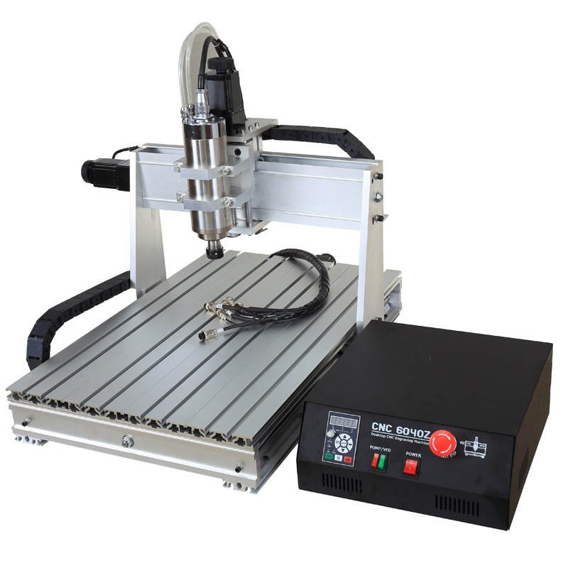 Latest CNC 6040 3 Axis 1500W With CNC Milling Engraving Machine Frame And Router Metal