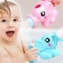 1 Набор ABS детская игрушка для ванной воды пляж игрушки пластмассовая Лейка для плавания вода игрушки спринклер набор для детей душ игры подарки