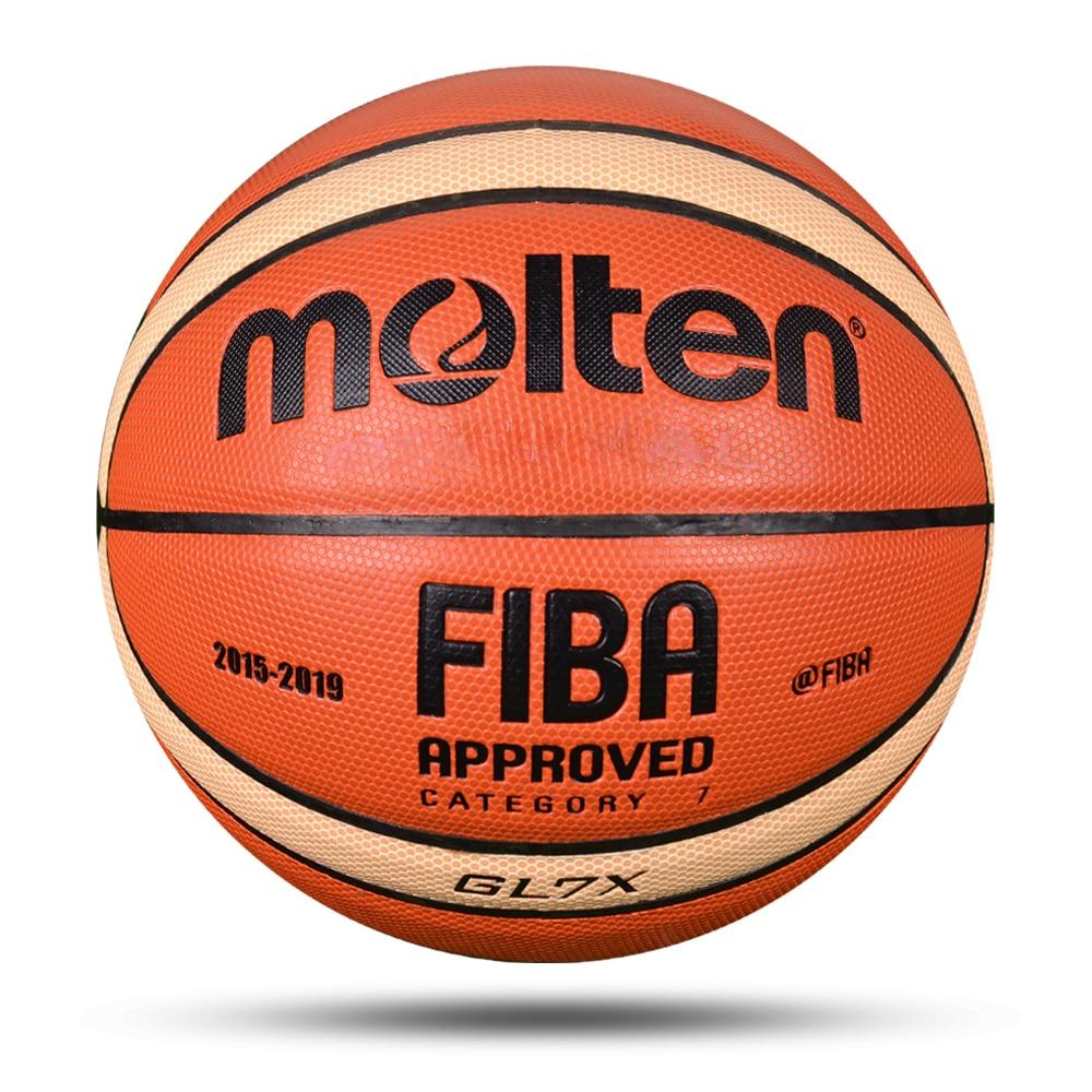 Professional Men Basketball Ball PU Material Size 7/6/5 Outdoor Indoor Match Training Basketball High Quality Women baloncesto