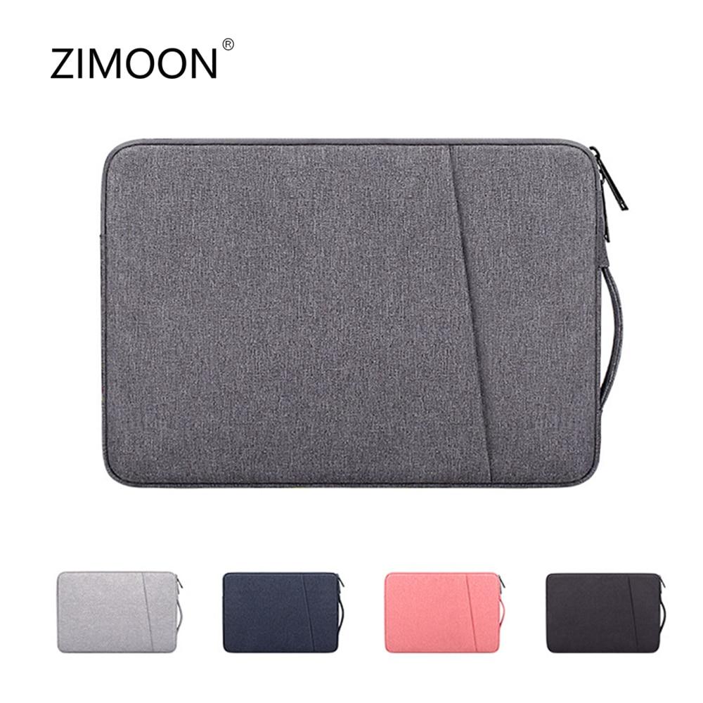 Laptop Sleeve Bag 13.3/14.1/15.6 inch Notebook Handbag Macbook Air Pro Case Cover Waterproof Side Carry Laptop Line Sleeve