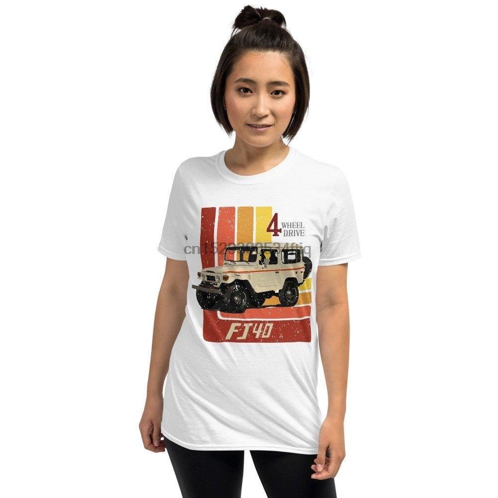Retro Toyota Land Cruiser FJ40 Short Sleeve Unisex T Shirt