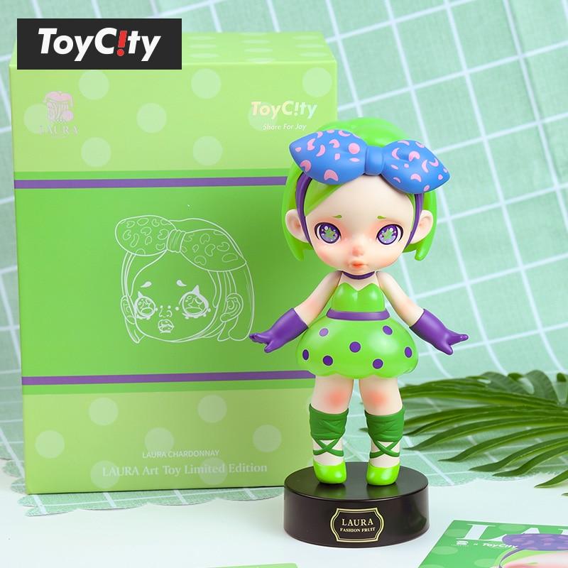 Toys Figure Original Laura Chardonnay Kawaii Anime Model PVC Dolls