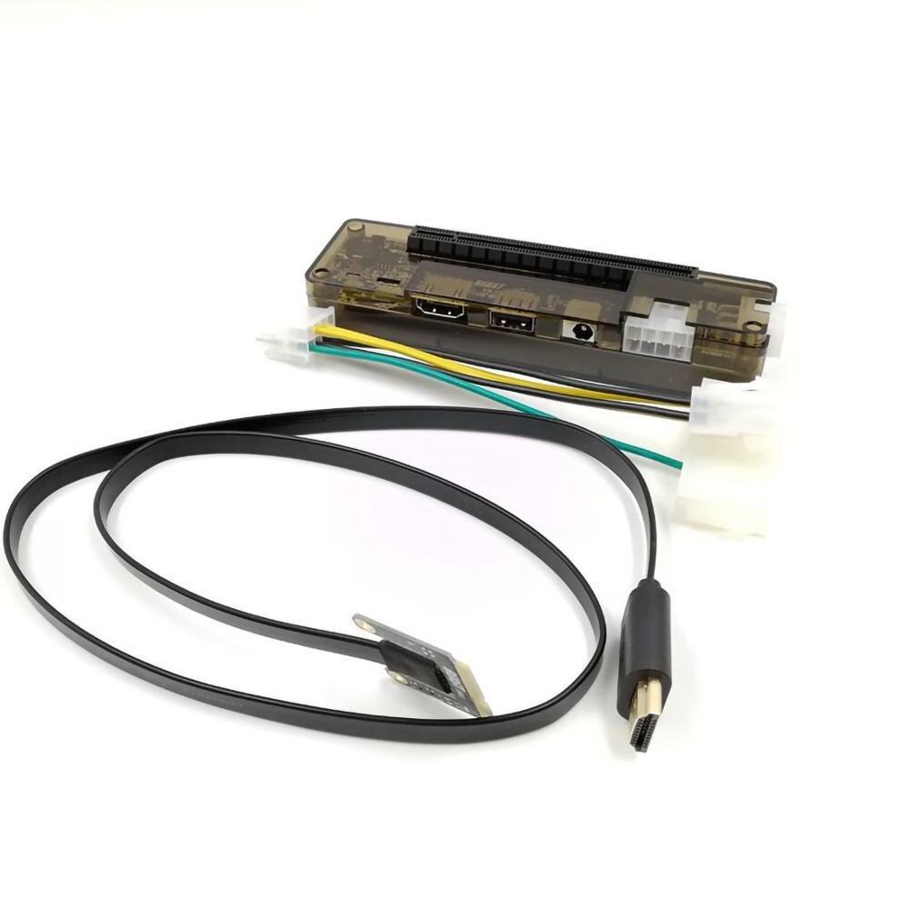 Placa expressa do adaptador de gráficos externo do portátil/mini pci-e/m.2 a chave/m chave exp gdc portátil docking station/placa de vídeo doca