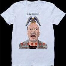 Birdman Unexpected Virtue Of Ignorance M Keaton MenS White, Custom Made T-Shirt Loose Size Top Ajax Tee Shirt