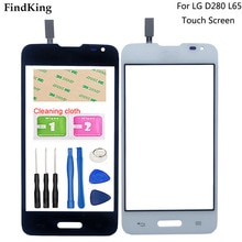 Mobile Touch Screen For LG Series III L65 D280 D280N Phone Screen Front Glass Lens Sensor Digitizer