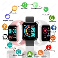 2020 smart watches men womens smartwatch sport heart rate blood pressure fitness bracelet touch control android ios smart watch