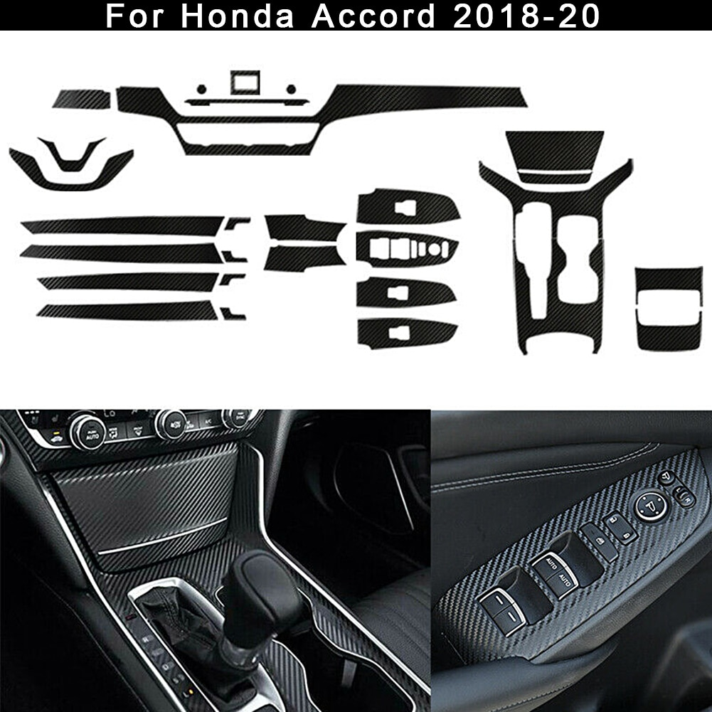 car styling rb style frp fiber glass wide full body kit fiberglass racing coupe auto trim accessories for honda s2000 ap1 ap2 for car Carbon Fiber Car Interior Decor Kit Trim Stickers Fit for Honda Accord 2018-2020