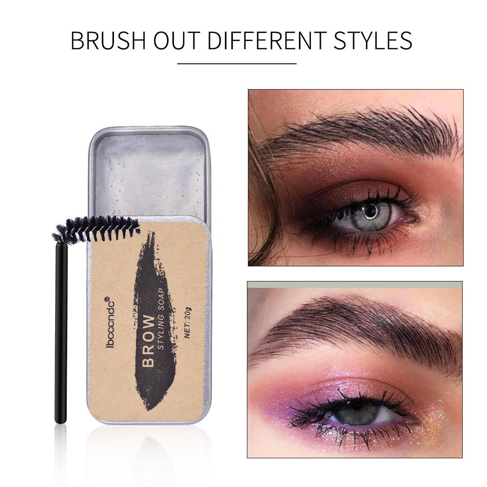 3D Feathery Brows Makeup Balm Styling Brows Soap Kit Waterproof Eyebrow Setting Gel Eyebrow Brows Makeup Gel Cosmetics