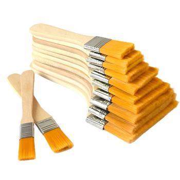 Pinceaux à peinture de grande surface, pinceaux pour peinture à l'huile, taches, vernis, colles et Gesso, outils de nettoyage de puces domestiques