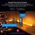 Светодиодная лента Suntech с Wi-Fi, светодиодные лампы SMD5050, совместимые с Alexa,Google Home, умные Меняющие цвет веревочные огни для украшения