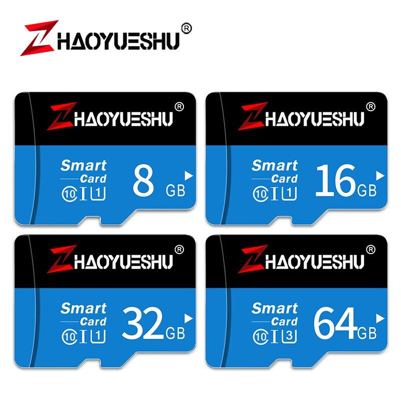 High Speed Micro SD TF Karte 16GB 32GB 64GB 128 GB Class 10 Flash Speicher Microsd Karte 8 16 32 64 128 GB für Smartphone Adapter