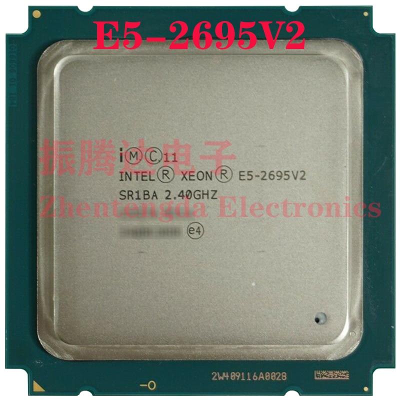 Intel Xeon E5-2695 v2 Processor 2.4GHz 30MB 12 Core 24 Threads LGA 2011 E5-2695V2 CPU Processor