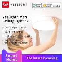 Xiamomi Yeelight plafonnier intelligent 320 mi maison intelligente eclairage interieur Google maison commande vocale travail avec APP Homekit Mijia APP