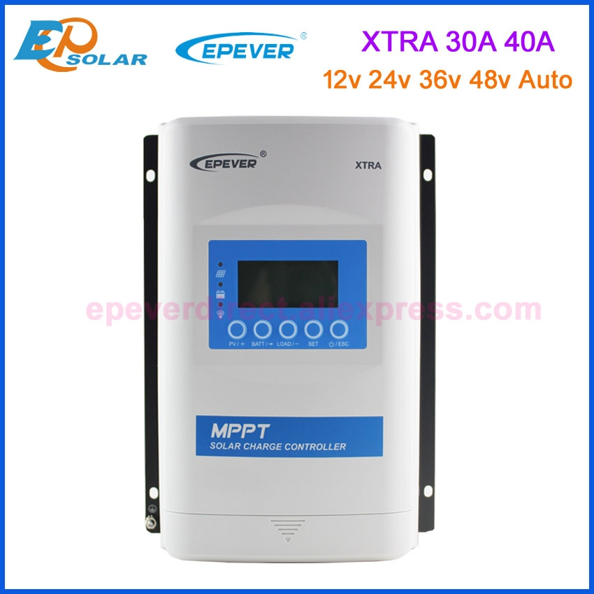 EPEVER XTRA-N سلسلة 30A 40A شاحن طاقة شمسية MPPT تحكم 12 فولت 24 فولت 36 فولت 48 فولت السيارات العمل مع ماكس pv 150 فولت المدخلات XTRA3415N XTRA4415N