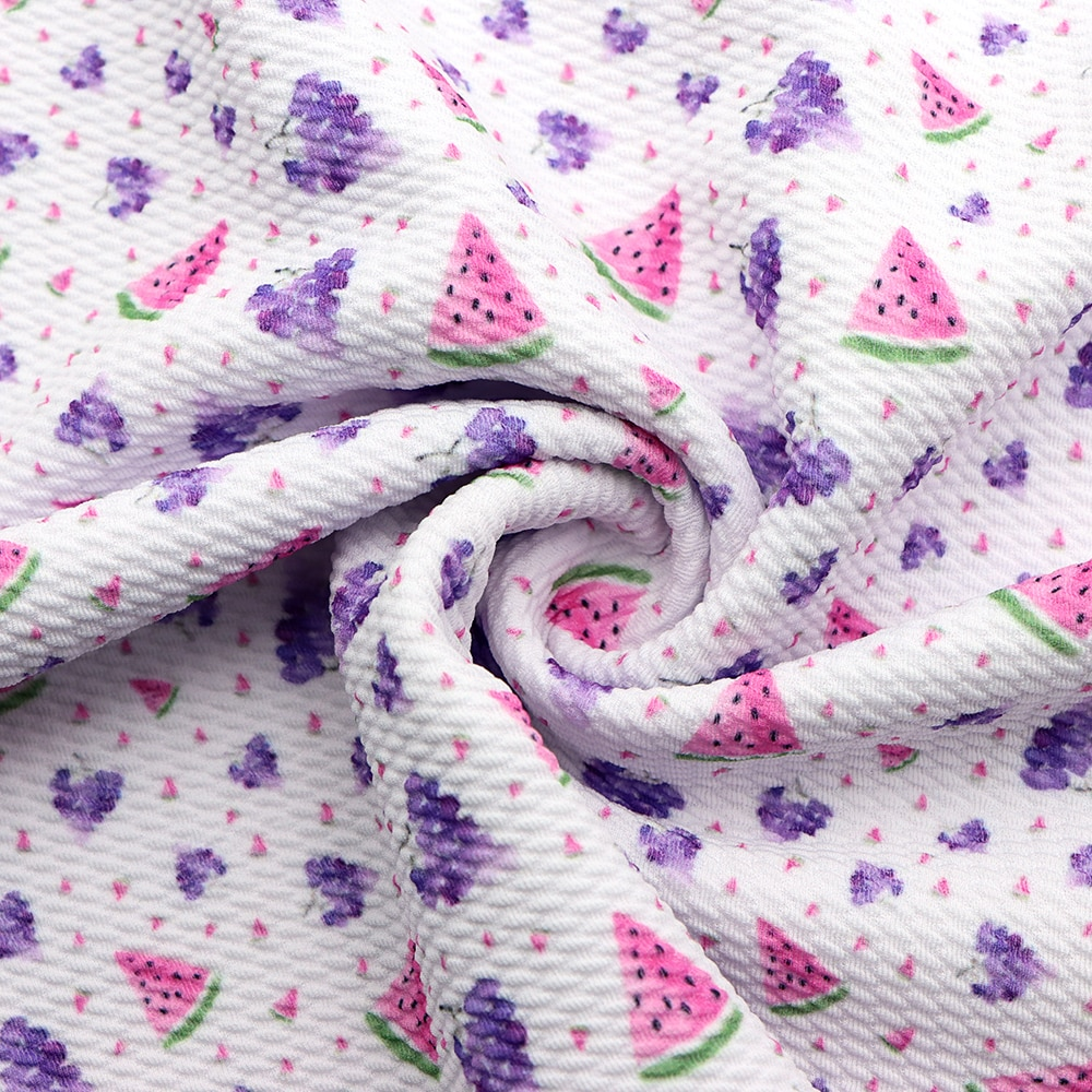 50*140cm, sandía fruta bala de sarga de tejido de punto de costura tejidos acolchados calidad de costura Liverpool de c11122
