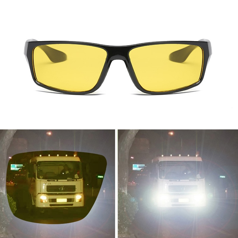 Очки ночного видения для водителя Солнцезащитные очки для вождения автомобиля поляризованные солнцезащитные очки с УФ-защитой антибликовые очки