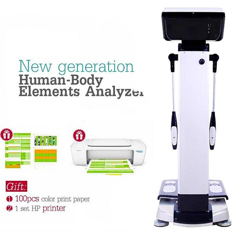 NewPortable Digital Fat Analyzer Monitor Bmi Body Health Care Analyzer Mini Beauty Device For Personal Use