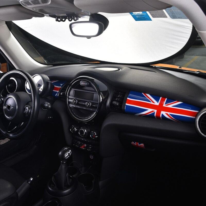 Painel de instrumentos de controle central interior do carro decoração etiqueta para bmw mini f55 f56 f57 jcw modelagem carro acessórios