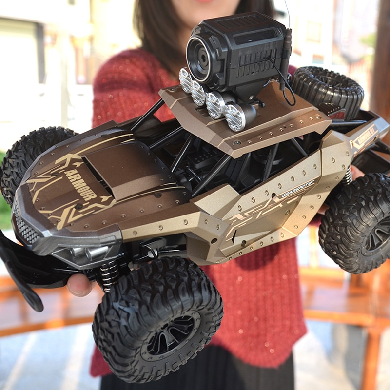 RC Car 4WD 2.4GHz Remote Control Car Climbing Vehicle With 720P HD FPV Camera 1/16 Off Road 4x4 Truck Offroad For Kids Toys Boys enlarge