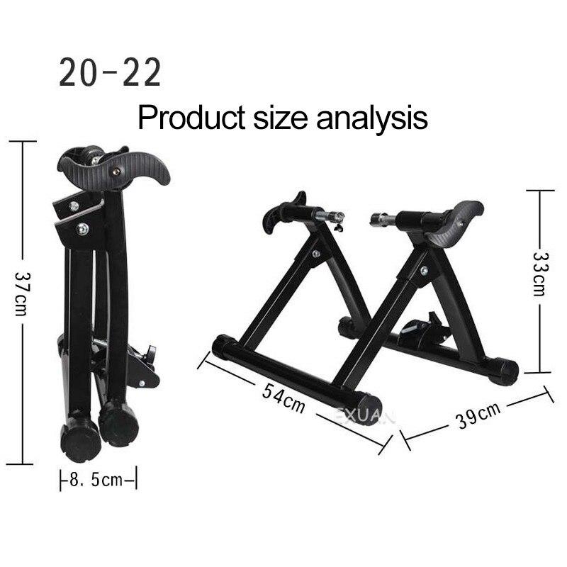 High-quality parking rack indoor bicycle riding platform road mountain folding reluctance training platform enlarge