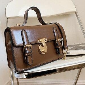 Vintage Trend Branded Shoulder Bag Designer Flap Handbag Fashion Shoulder Bag Luxury Handbags for Women 2021 PU Leather