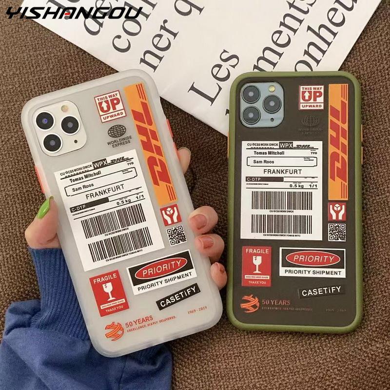 Pour Huawei P20 P30 Pro Mate 20 30 Honor 9X Nova 5 5i 4 étui étiquette Code à barres couvercle pour Xiao mi mi 9T 9 A3 Lite rouge mi Note 7 8 Pro