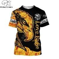 summer hipster men t shirt beautiful animal eagle tattoo 3d printed harajuku short sleeve t shirt unisex casual tops tx0196