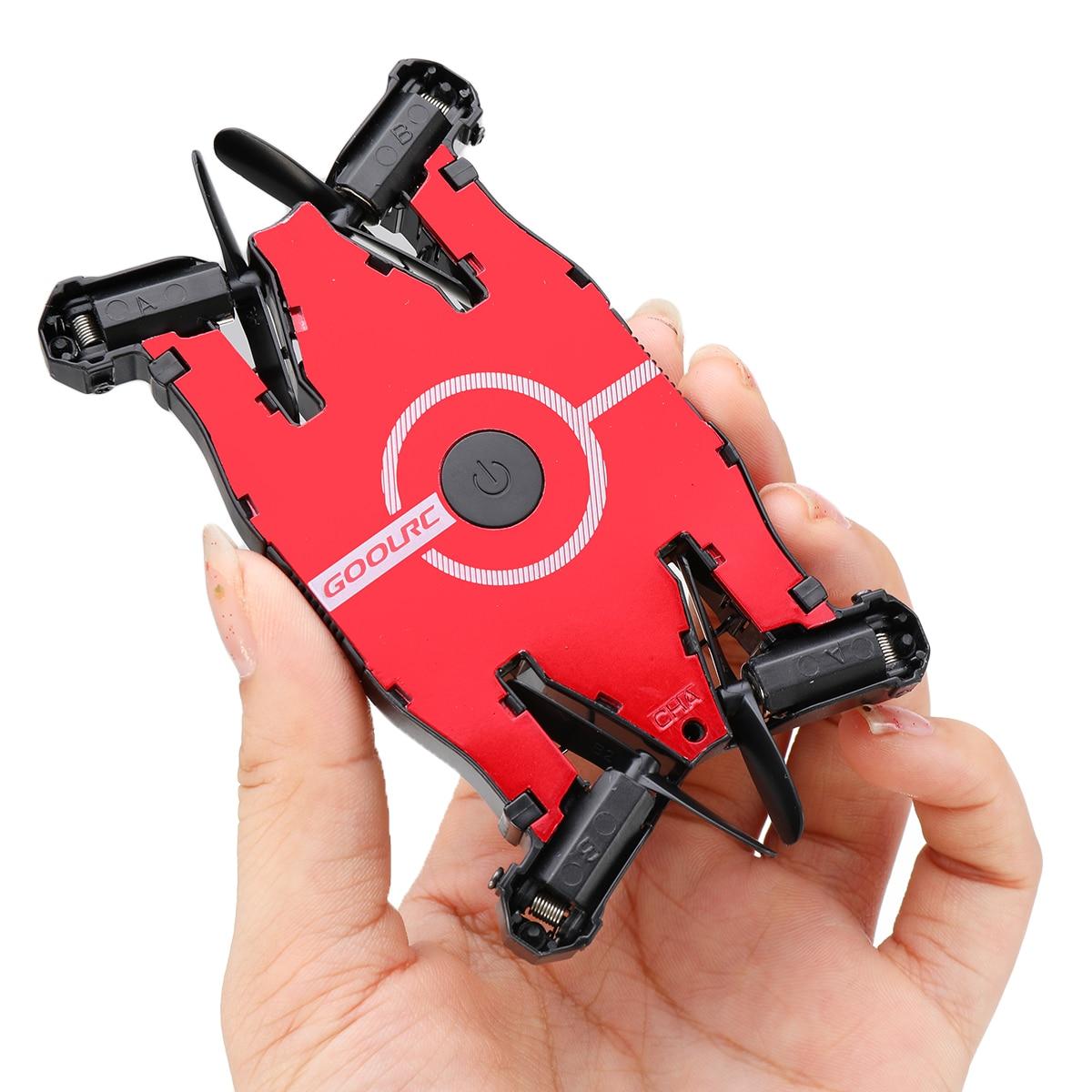 JJRC T49 Wifi FPV Mini Selfie Drone HD Camera Auto Foldable Arm RC Quadcopter Helicopter Christmas Gift Kid VS H37 E57