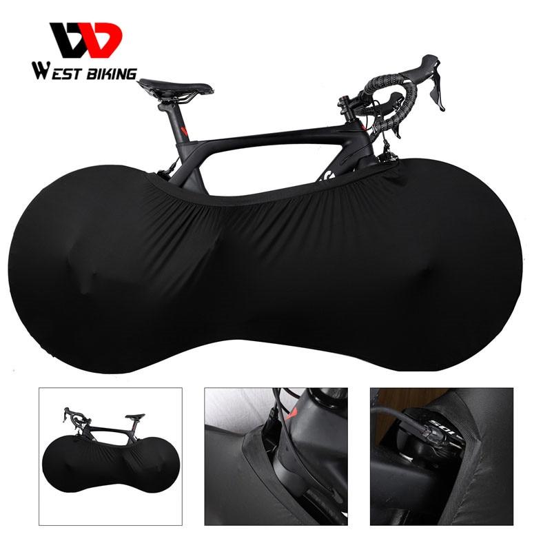 WEST BIKING MTB Road Bike Protector Wheels Cover Dust-Proof Scratch-proof Indoor Protective Gear 26 27.5 29 700C Storage Bag