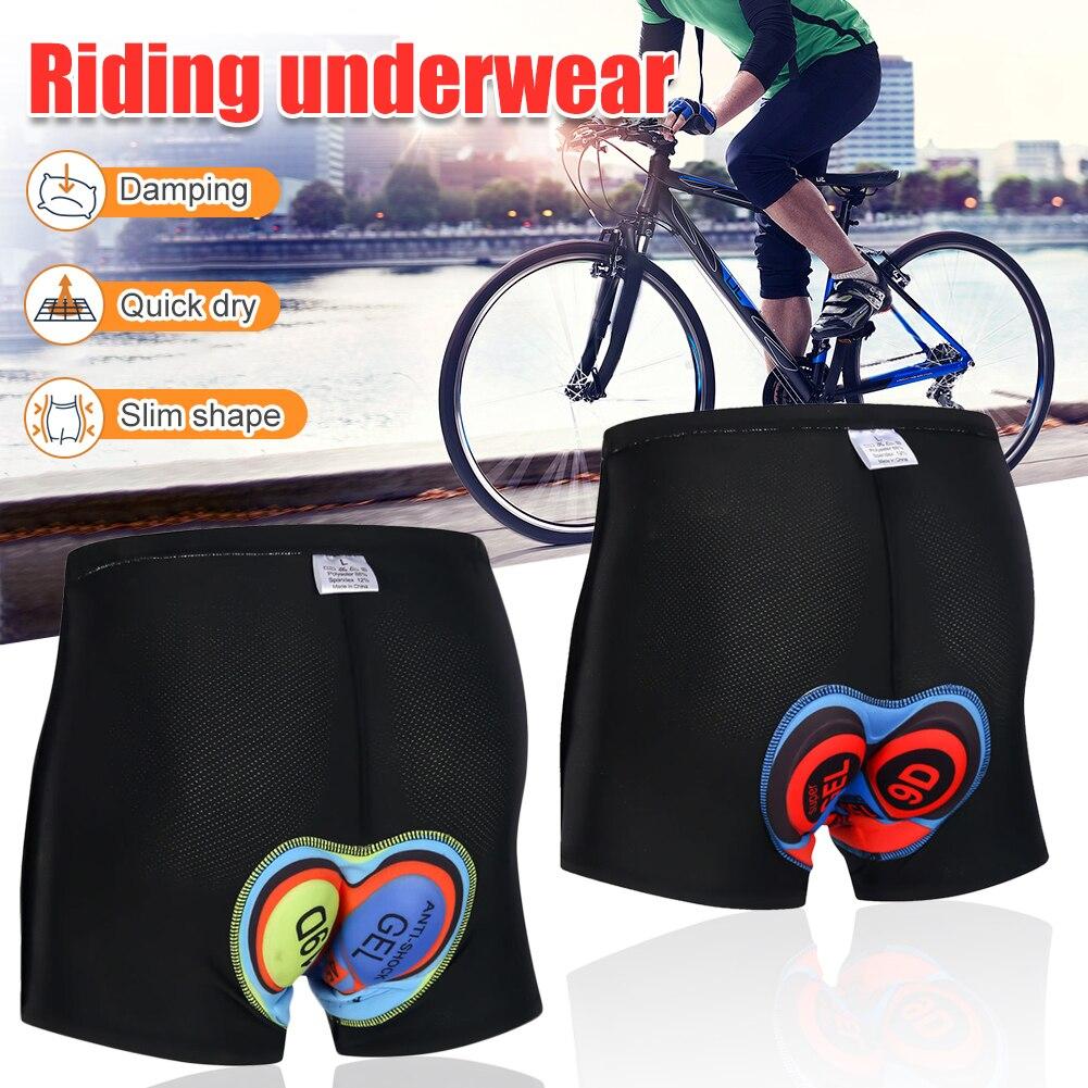 Pantalones cortos de ciclismo transpirables 9D 19D para hombre, pantalones cortos para bicicleta de montaña, ropa interior acolchada para bicicleta, pantalones cortos Vtt
