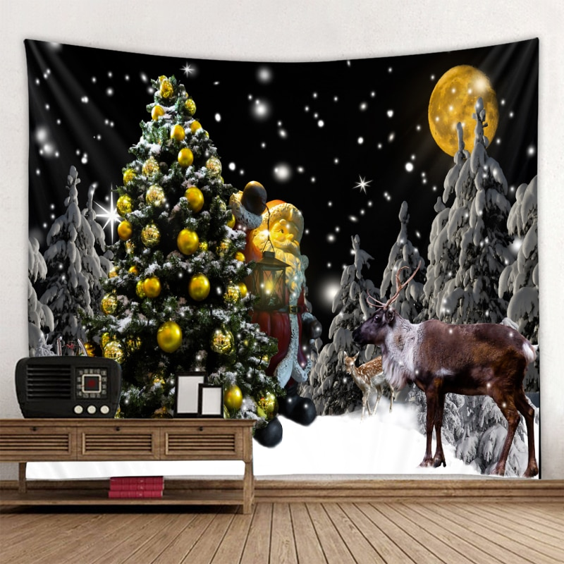 Christmas tapestry home decoration art wall hanging