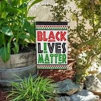 american outdoor banner black lives matter flag garden house home decor all men are equal