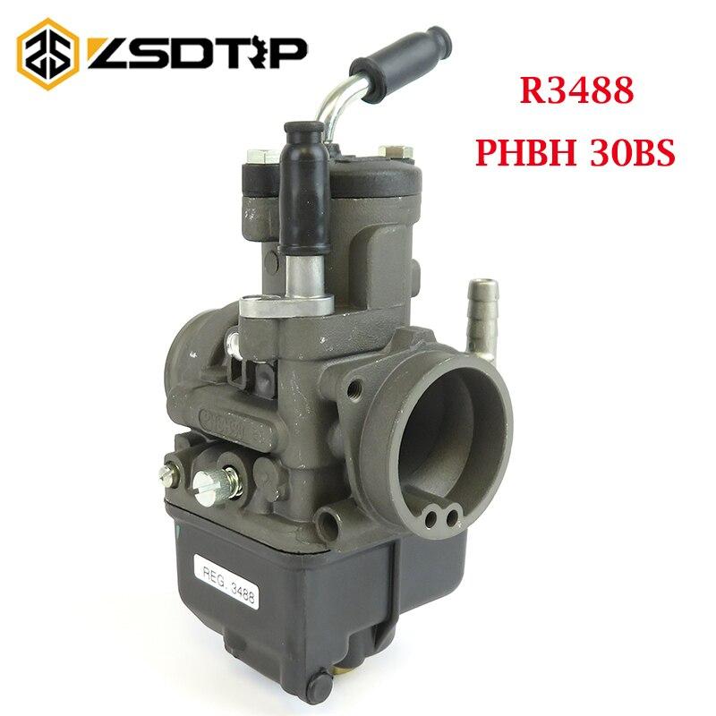 ZSDTRP-مكربن Moto Guzz ، Dellorto PHBH 30BS 4T(B) R3488 لمحرك 125-300cc 4T