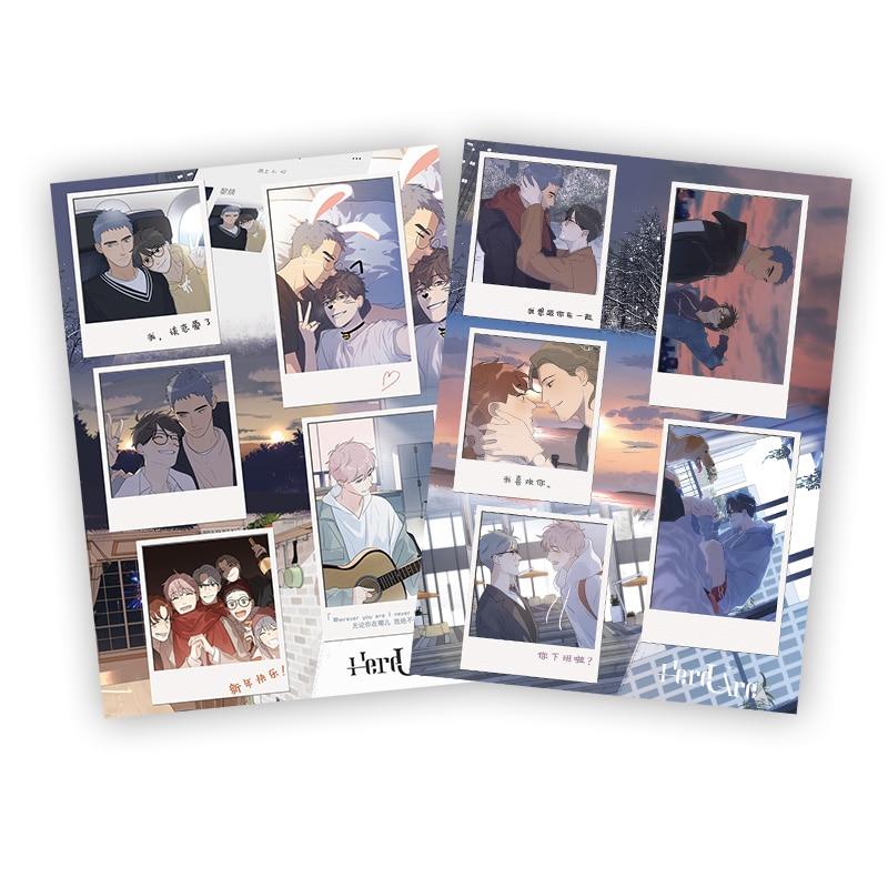 2-fogli-set-qui-ci-sono-adesivi-decorativi-li-huan-adesivi-per-etichette-scrapbooking-diario-di-personaggi-dei-cartoni-animati-yu-yang