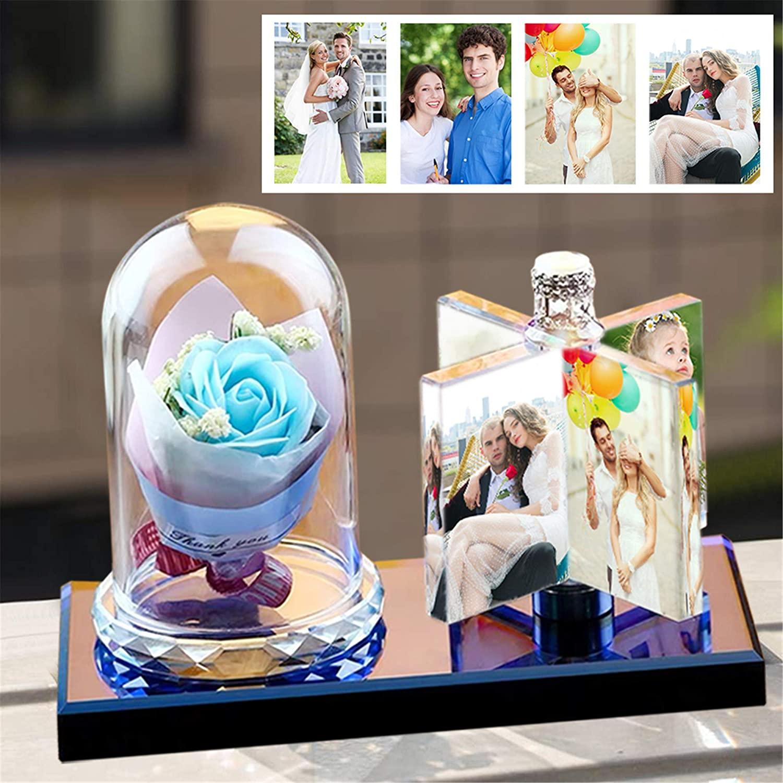 شخصية إطار صور ألبوم صور مخصصة عيد الحب الآباء يوم الزفاف هدية الطفل إطار صور الذكرى زهرة هدية