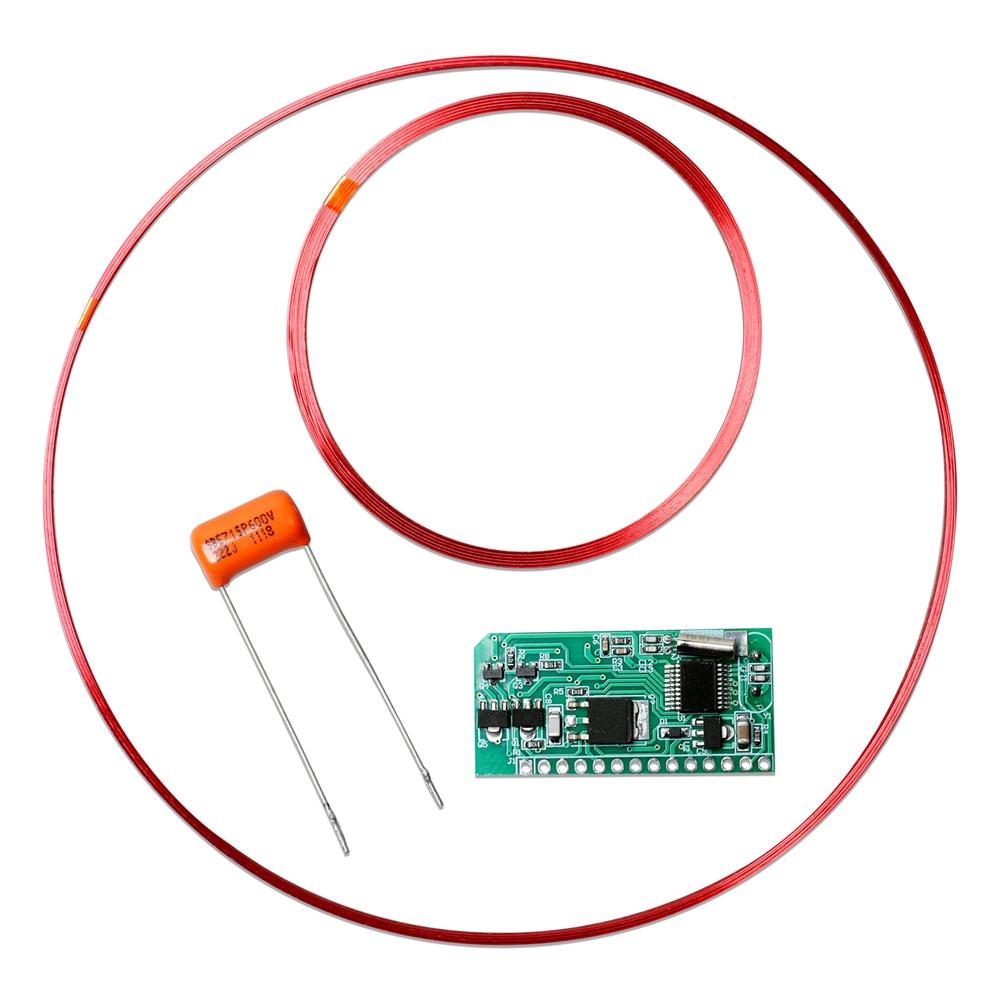 ل RFID بطاقة القراءة وحدة عن بعد 134.2K ID بطاقة القراءة وحدة TI HDX علامة الزجاج أنبوب FDX-A FDX-B RI-TRP-DR2B RI-TRP-R4FF