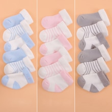 3 paire/lot 2020 nouveau coton nouveau-né bébé chaussettes pour garçons et filles bébé pied chaussette