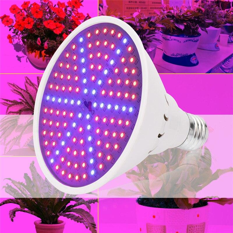 LED Grow Light Full Spectrum Fitolamp Hydroponics Phyto lamp Phyto-Lamp 15W For Indoor Vegetable Flower Seedling Plants Lighting